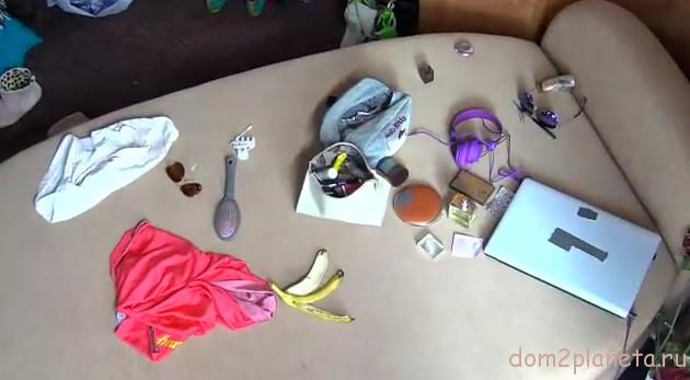 Бардак в женской спальне (29.09.2014 г.): видео