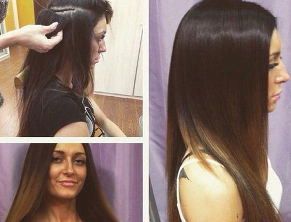 Кристина Дерябина сделала волосы